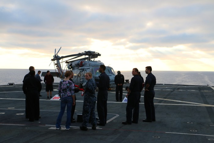 Steal Beach Picnic USS Mount Whitney 12