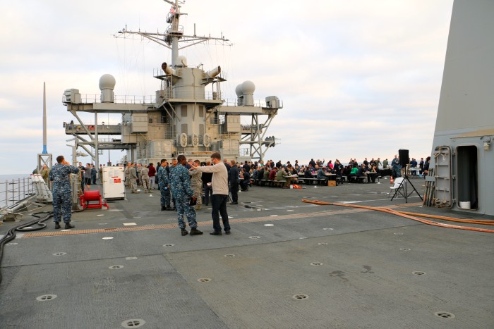 Steal Beach Picnic USS Mount Whitney 14