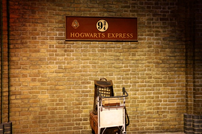 Hogwarts in the Snow, Harry Potter World London 7