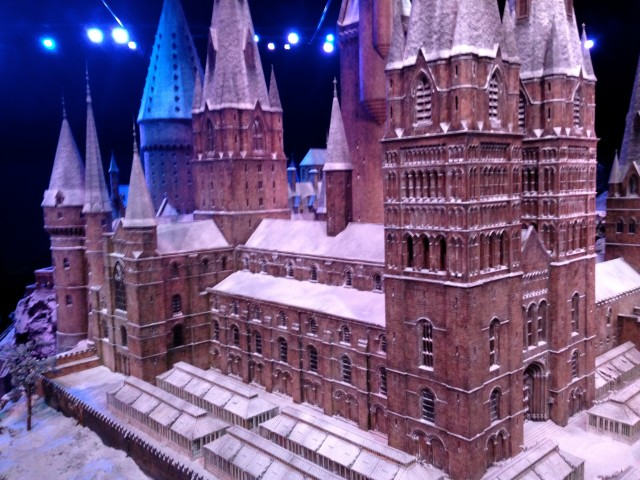 Hogwarts in the Snow, Harry Potter World London 75