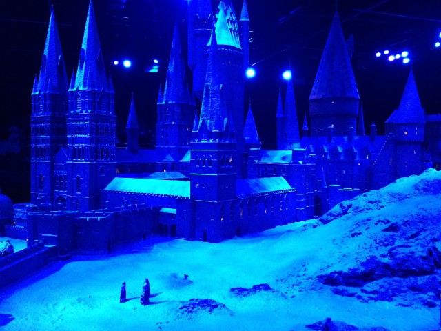 Hogwarts in the Snow, Harry Potter World London 76