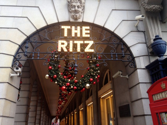 The Ritz for Christmas, London