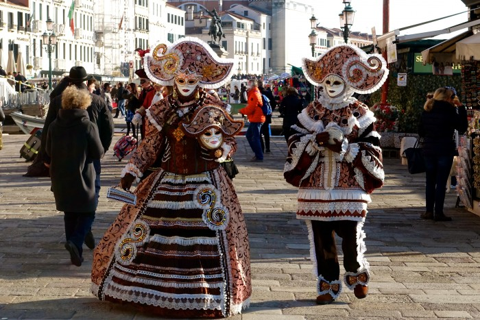 Venice Italy, Carnival Weekend 15