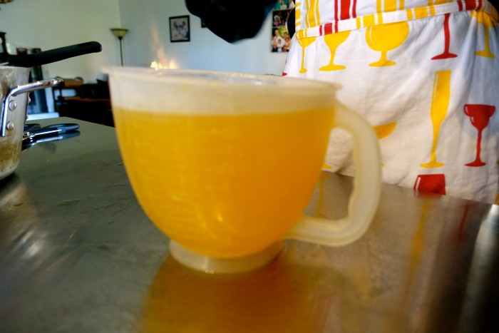 Learning how to make Limoncello 29