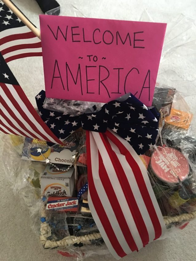 Back to America from Megan
