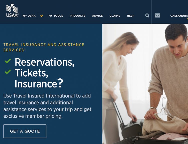 Life Insurance Quotes Usaa Stunning Travel Medical Insurance