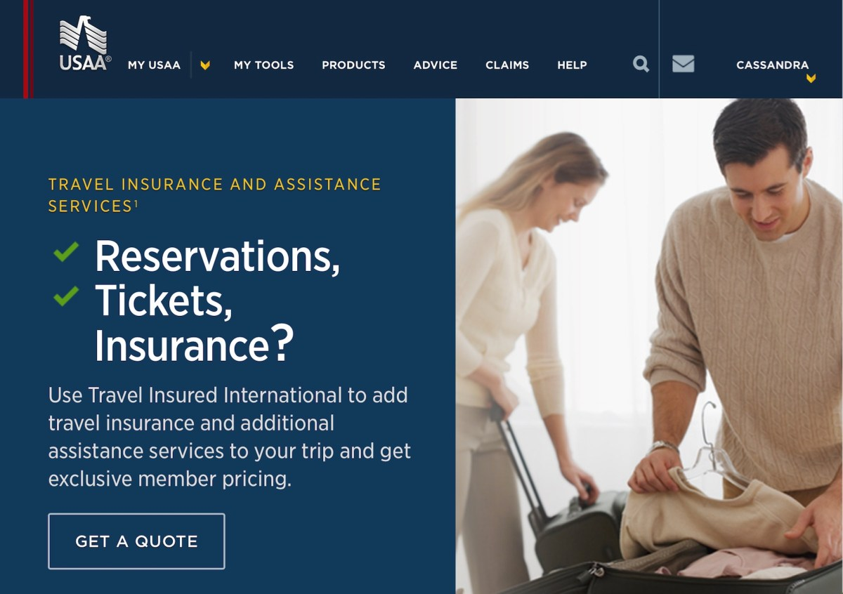 Usaa Insurance Quote Why Usaa Travel Insurance Is The Best