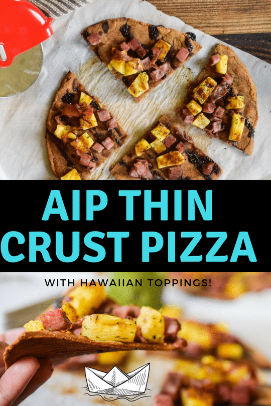 aip thin crust pizza