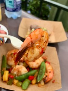 Food and Wine Grilled Sweet and Spicy Bush Berry Shrimp