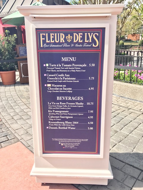 Epcot International Flower and Garden Festival Fleur de Lys
