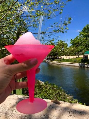 Epcot International Flower and Garden Festival France Pavilion Fleur de Lys La Vie en Rose Frozen Slush