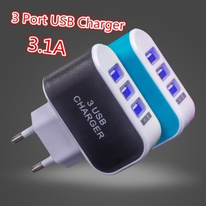 3USB Ports 3.1A Charger