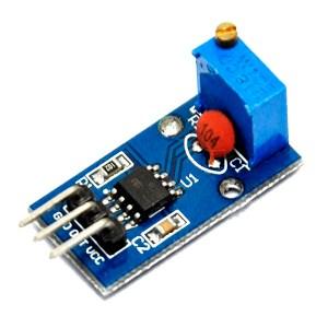 NE555 adjustable frequency