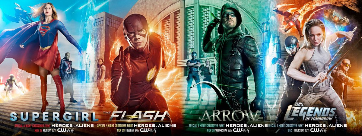 Arrowverse Plays On Current Events, Announces Nazi Crossover Battle