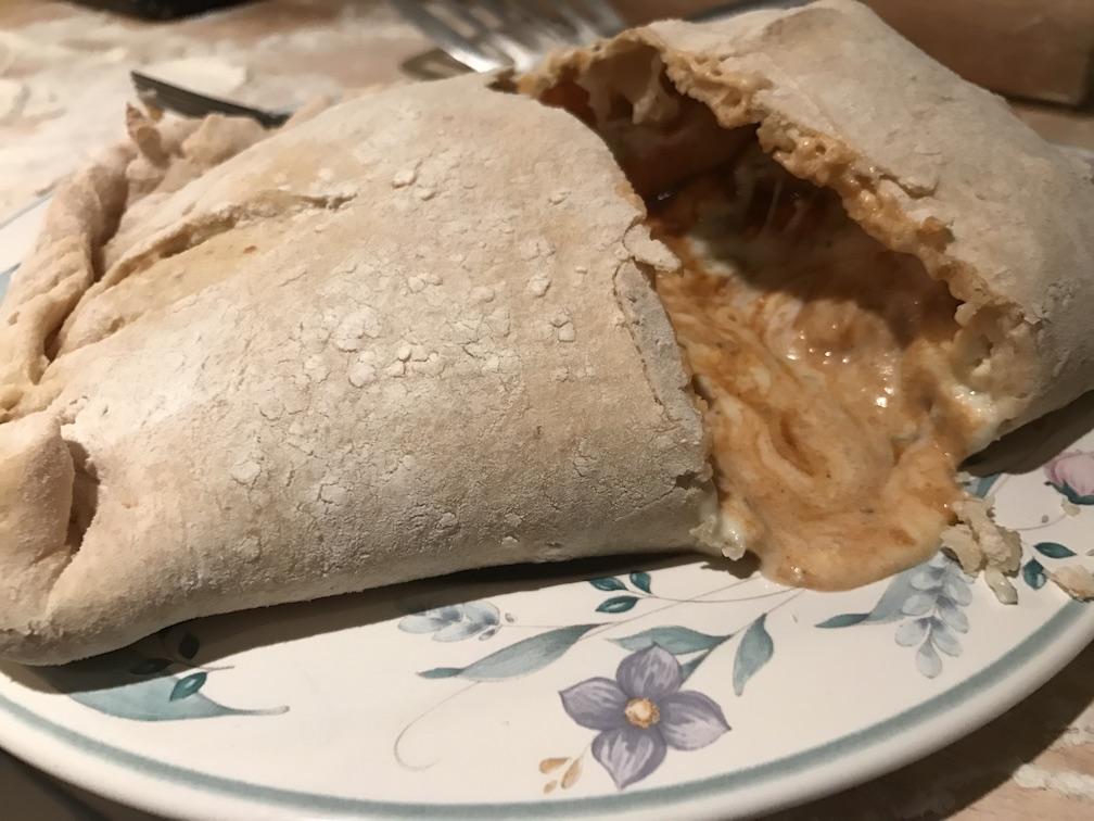 Casual Cookery – Buffalo Chicken Calzone