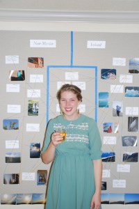 Taryn Wiens received a Venture Grant to explore Iceland and New Mexico. Photo courtesy of Taryn Wiens