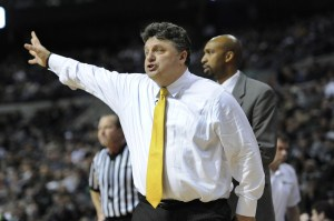 Oakland head coach Greg Kampe led the Golden Grizzlies from the NAIA to the Summit League, and now one step further to the Horizon League. (Photo: Oakland Athletics)