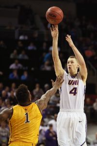 Paul Jesperson led Northern Iowa with 16 points Sunday. (Photo by Otto Greule Jr/Getty Images)