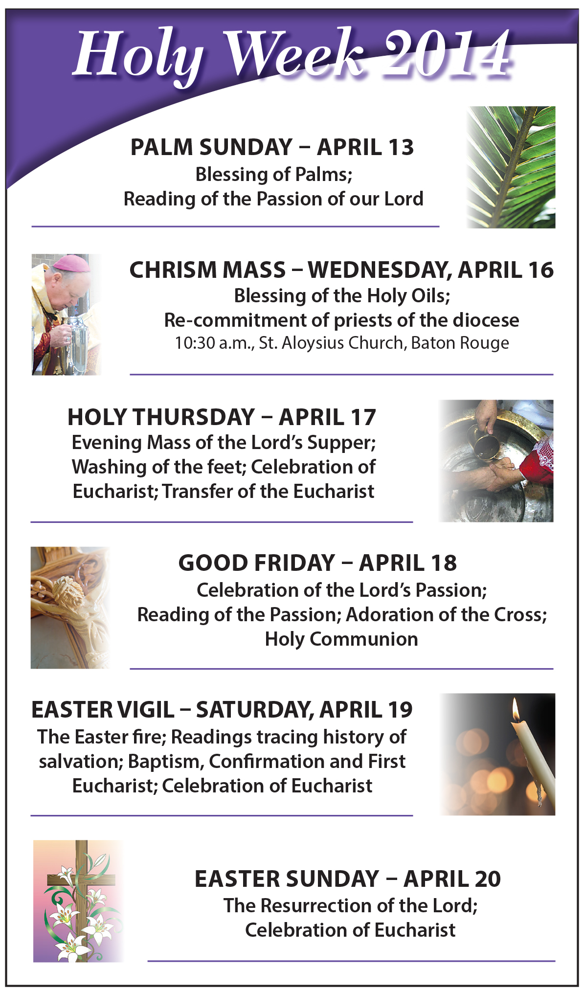 The Catholic Commentator Keeping The Holy In Holy Week