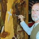 Art Project depicts role of military in nation's history