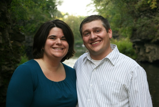 Maria and Mike Slavik are members of St. Thomas Aquinas in St. Paul Park.  Photo courtesy of the Slaviks