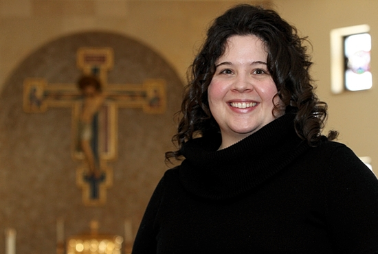 As a consecrated virgin, Nicole Bettini lives in perpetual virginity as an exclusive spouse of Christ. Bettini, a religious education and youth ministry coordinator at Maternity of the Blessed Virgin in St. Paul, became a consecrated virgin in 2007. Dave Hrbacek/The Catholic Spirit