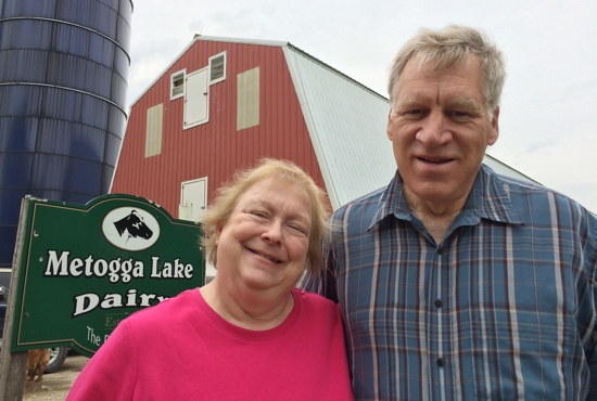 Bridget and Ray Pieper will host the 2015 Archdiocesan Rural Life Sunday June 28 at their farm, Metogga Lake Dairy, near Lonsdale. Maria Wiering/The Catholic Spirit