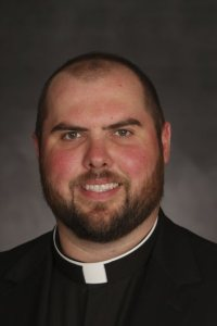 John Wesley Lawrence, 30, a seminarian of the Diocese of Des Moines, passed away in his sleep the night of Aug. 31 while staying with his mother at her home near Anamosa, Iowa. His cause of death is unknown at this time. Dave Hrbacek/The Catholic Spirit