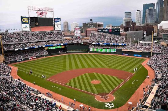 The Minnesota Twins reserve 250 tickets at every Target Field home game for underserved children and families.