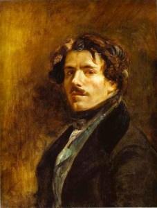 Delacroix, self portrait