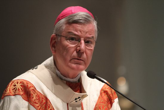 Archbishop John Nienstedt in an undated Catholic Spirit file photo. Dave Hrbacek/The Catholic Spirit