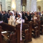 At Mass, consecrated recognized for unique contributions
