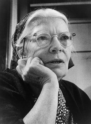 Dorothy Day, co-founder of the Catholic Worker Movement, is pictured in an undated photo. Cardinal Timothy M. Dolan of New York has opened the canonical inquiry on the life of the social justice advocate, the archdiocese announced April 19. CNS photo/courtesy Milwaukee Journal