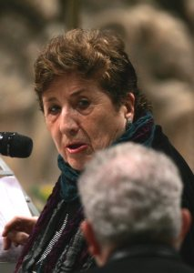Carmen Hernandez, co-founder of the Neocatechumenal Way, died in Madrid July 19 at the age of 85. She is pictured in a 2009 photo. CNS