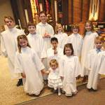 Ten youths baptized at Deephaven school Mass