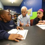Retired educator honored for ongoing work with students