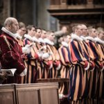 Swiss Guard exhibit at Basilica captures behind-the-scenes view of Vatican's soldiers