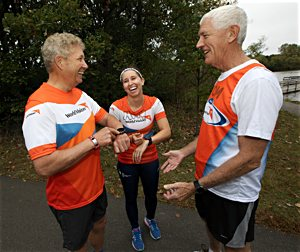 Guardian Angels' runners combine exercise, fellowship and