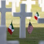 War brings only death, cruelty, pope says at U.S. military cemetery