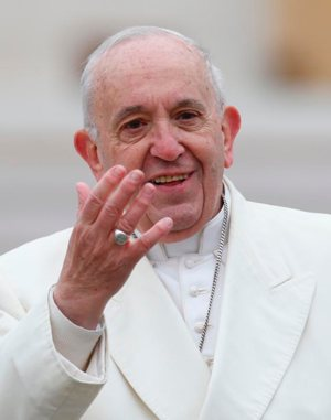 Pope talks about the Word of God