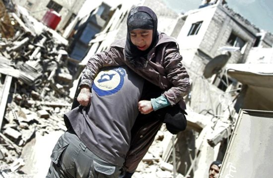 More bombs fall on eastern Ghouta