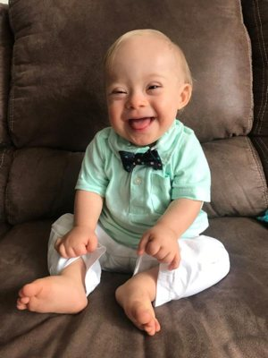 "Lucas Warren is the first child with Down syndrome selected to be a ""Gerber baby."""