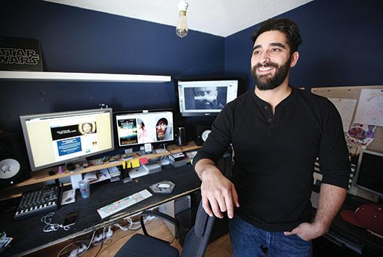 Catholic filmmaker Cliff Azize