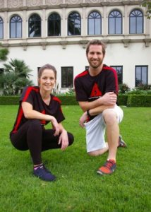 Catholic personal trainers Brenda Sigmund and Jordan Friske