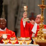 Cardinal: Communion cannot be shared with friends like beer or cake