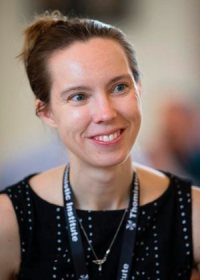Karin Oberg, associate professor of astronomy at the Harvard-Smithsonian Center for Astrophysics and board member of the Society of Catholic Scientists