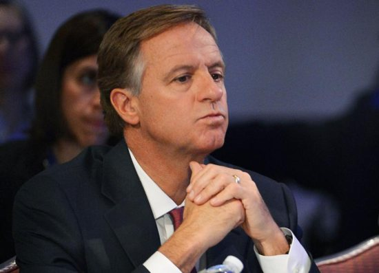 Tennessee Gov. Bill Haslam is pictured in a 2016 photo.