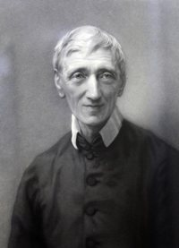 Blessed John Henry Newman is seen in a portrait provided by the Catholic Church in England and Wales. Catholic bishops in England hope for his canonization in 2019 after Vatican theologians conclude that the inexplicable healing of a U.S. woman with life-threatening complications in pregnancy was a miracle attributable to him.