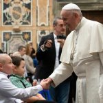 Pope tells kids battling cancer to talk to their guardian angel every day