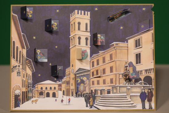 Advent calendars, with one box to open each day from Dec. 1-25, vary from simple paper calendars with religious images to more elaborate calendars with actual gifts for each day. The tradition of these calendars began in the mid-19th century in Germany.